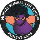 Pog n°9 - Mileena - Mortal Kombat Live Tour - Divers
