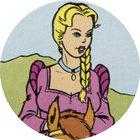 Pog n°7 - Princesse Ludivine à cheval / Prinses Lutgardis te paard - Prince de Lu / Prince van Lu - World Pog Federation (WPF)