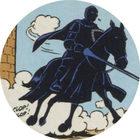 Pog n°20 - Le Chevalier Noir en armure / De Zwarte Ridder in harnas - Prince de Lu / Prince van Lu - World Pog Federation (WPF)
