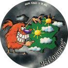 Pog n°60 - MÉTÉOROPOG - Série n°2 - World Pog Federation (WPF)