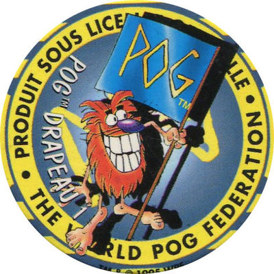 Pog n° - Série n°2 - Amora - World Pog Federation (WPF)