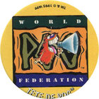 Pog n°72 - TETE DE POG - Série n°2 - World Pog Federation (WPF)
