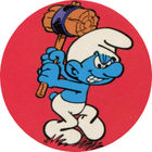 Pog n°2 - Les Schtroumpfs - Caprice des Dieux - World Pog Federation (WPF)