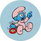 Pog n°20 - Les Schtroumpfs - Caprice des Dieux - World Pog Federation (WPF)