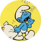Pog n°21 - Les Schtroumpfs - Caprice des Dieux - World Pog Federation (WPF)