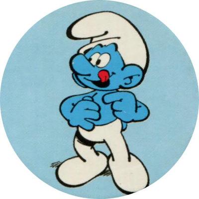 Pog n° - Les Schtroumpfs - Caprice des Dieux - World Pog Federation (WPF)