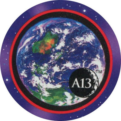 Pog n° - Apollo 13 - World Pog Federation (WPF)