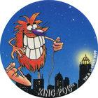 Pog n°43 - KING POG - Série n°2 - Candia - World Pog Federation (WPF)