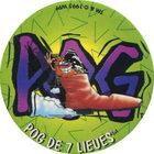 Pog n°53 - POG DE 7 LIEUES - Série n°2 - Candia - World Pog Federation (WPF)