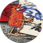 Pog n°68 - T'AS PAS 100 POG - Série n°2 - Candia - World Pog Federation (WPF)