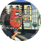 Pog n°77 - POGVISEUR - Série n°2 - Candia - World Pog Federation (WPF)