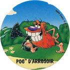 Pog n°94 - POG D'ARROSOIR - Série n°2 - Candia - World Pog Federation (WPF)