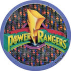 Pog n°51 - Power Rangers - Dos bleu - World Pog Federation (WPF)