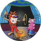 Pog n°6 - POG CIRCUS - Série n°2 - Danone - World Pog Federation (WPF)