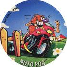 Pog n°36 - MOTO POG - Série n°2 - Danone - World Pog Federation (WPF)