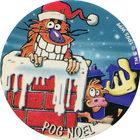 Pog n°42 - POG NOEL - Série n°2 - Danone - World Pog Federation (WPF)