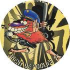Pog n°66 - AGENT DE POGLICE 2 - Série n°2 - Danone - World Pog Federation (WPF)