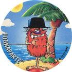 Pog n°1 - POGNAPARTE - Série n°2 - Petits musclés - World Pog Federation (WPF)