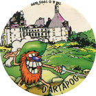 Pog n°4 - DARTAPOG - Série n°2 - Petits musclés - World Pog Federation (WPF)