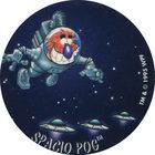 Pog n°7 - SPACIO POG - Série n°2 - Petits musclés - World Pog Federation (WPF)
