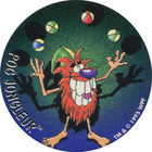 Pog n°10 - POG JONGLEUR - Série n°2 - Petits musclés - World Pog Federation (WPF)