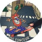Pog n°14 - POG FONCEUR - Série n°2 - Petits musclés - World Pog Federation (WPF)