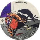 Pog n°19 - POG DE BANANE - Série n°2 - Petits musclés - World Pog Federation (WPF)