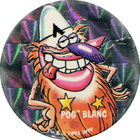 Pog n°26 - POG BLANC - Série n°2 - Petits musclés - World Pog Federation (WPF)
