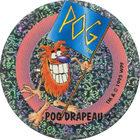 Pog n°37 - POG DRAPEAU 2 - Série n°2 - Petits musclés - World Pog Federation (WPF)