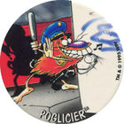 Pog n°49 - POGLICIER - Série n°2 - Petits musclés - World Pog Federation (WPF)