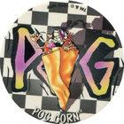 Pog n°50 - POG CORN - Série n°2 - Petits musclés - World Pog Federation (WPF)