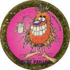 Pog n°54 - POG DE PAILLE - Série n°2 - Petits musclés - World Pog Federation (WPF)
