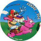 Pog n°63 - POG JOCKEY - Série n°2 - Petits musclés - World Pog Federation (WPF)