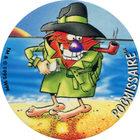 Pog n°64 - POGMISSAIRE - Série n°2 - Petits musclés - World Pog Federation (WPF)
