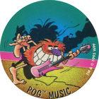 Pog n°71 - POG MUSIC - Série n°2 - Petits musclés - World Pog Federation (WPF)