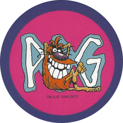 Pog n° - Série 1 - Original Vintage - World Pog Federation (WPF)