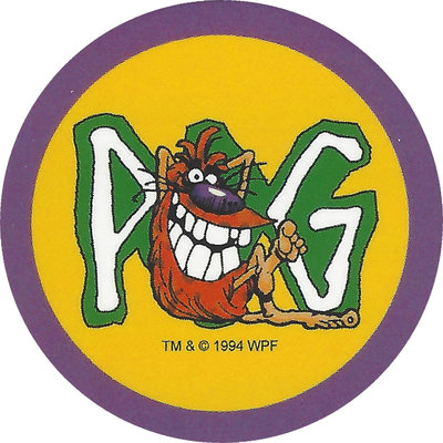 Pog n° - Série 1 - Original Vintage - World Pog Federation (WPF)