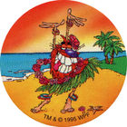 Pog n°42 - Hula Guru - Pog Pourri - Series 3 - World Pog Federation (WPF)
