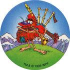 Pog n°48 - POGMAN The Brave - Pog Pourri - Series 3 - World Pog Federation (WPF)