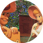 Pog n°6 - Woody amoureux - Toy Story - McDonald's - World Pog Federation (WPF)