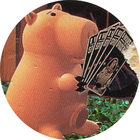 Pog n°22 - Bayonne tête de lard 1 - Toy Story - McDonald's - World Pog Federation (WPF)