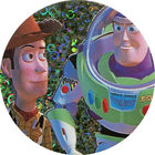 Pog n°25 - Duo de choc - Toy Story - McDonald's - World Pog Federation (WPF)