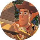 Pog n°32 - Woody à l'affût - Toy Story - McDonald's - World Pog Federation (WPF)