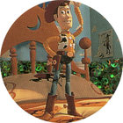 Pog n°34 - Woody le cow-boy - Toy Story - McDonald's - World Pog Federation (WPF)