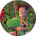 Pog n°43 - Woody aux commandes - Toy Story - McDonald's - World Pog Federation (WPF)