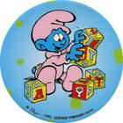Pog n°4 - Bébé Schtroumpf 1 - Les Schtroumpfs - World Pog Federation (WPF)