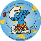 Pog n°6 - Schtroumpf Costaud - Les Schtroumpfs - World Pog Federation (WPF)