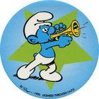 Pog n°7 - Schtroumpf Musicien 1 - Les Schtroumpfs - World Pog Federation (WPF)