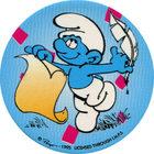 Pog n°8 - Schtroumpf Poète - Les Schtroumpfs - World Pog Federation (WPF)