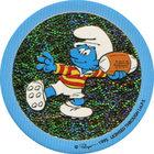 Pog n°13 - Schtroumpf Foot Américain - Les Schtroumpfs - World Pog Federation (WPF)